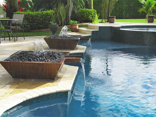 Maintenance Services – Waterfalls, Water Fountains and Swimming Pools